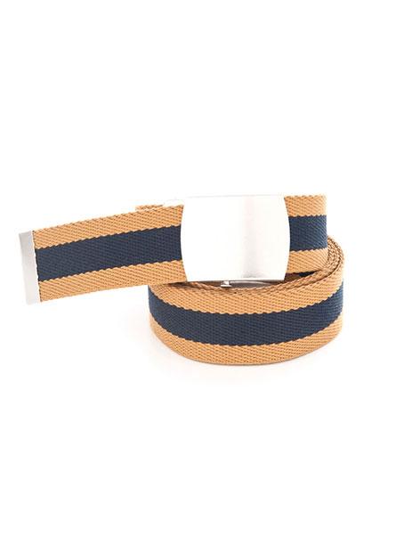 止滑釦織帶皮帶