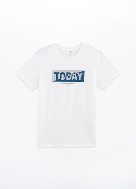 TODAY字樣T恤