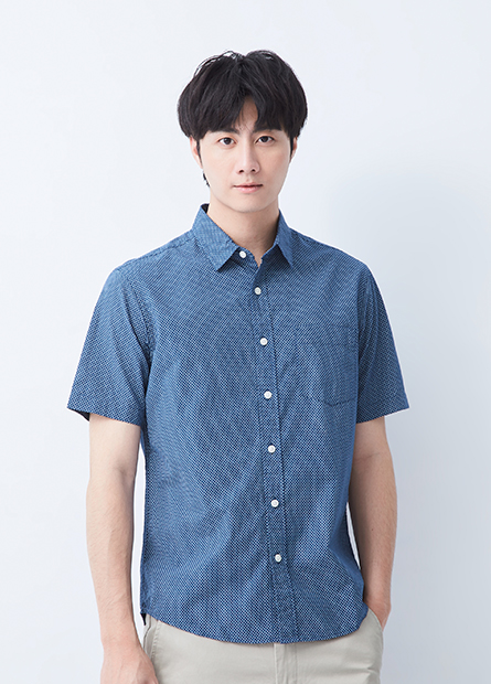 Regular Fit標準領短袖襯衫