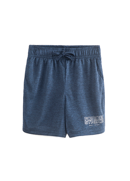 男童鬆緊印字運動短褲