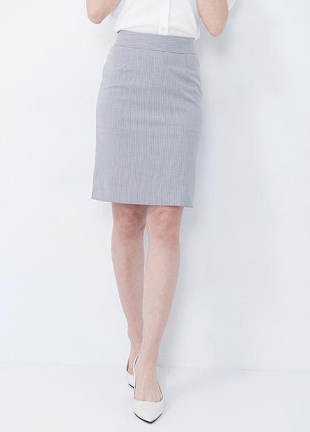 Slim Fit 及膝商務短裙