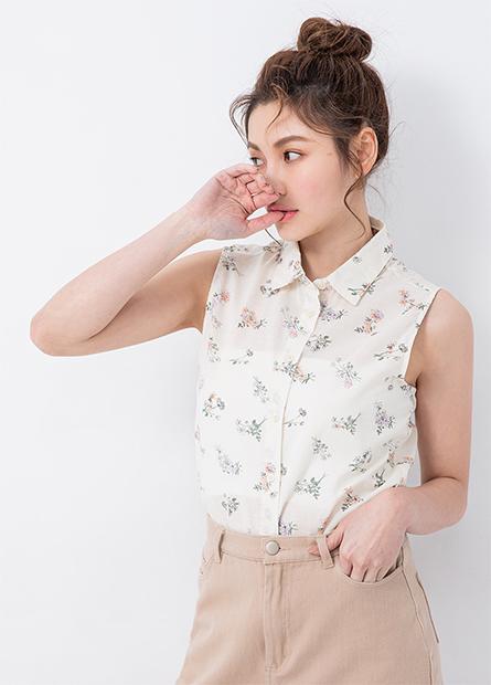 純棉襯衫領背心