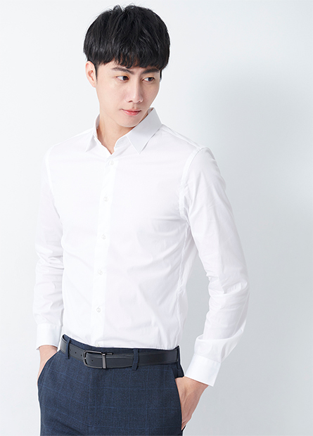 合身長袖襯衫