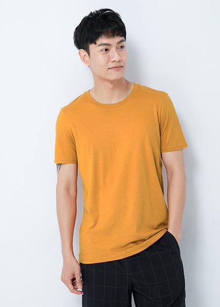 L&F素色圓領T恤