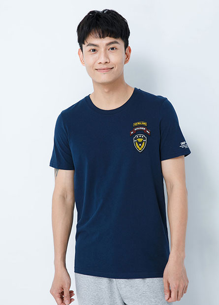 L&F左胸貼布T恤