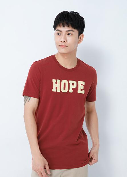 HOPE繡字T恤