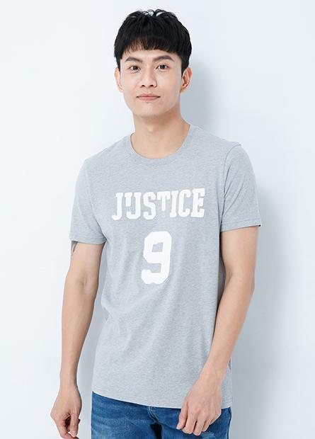 JUSTICE繡字T恤