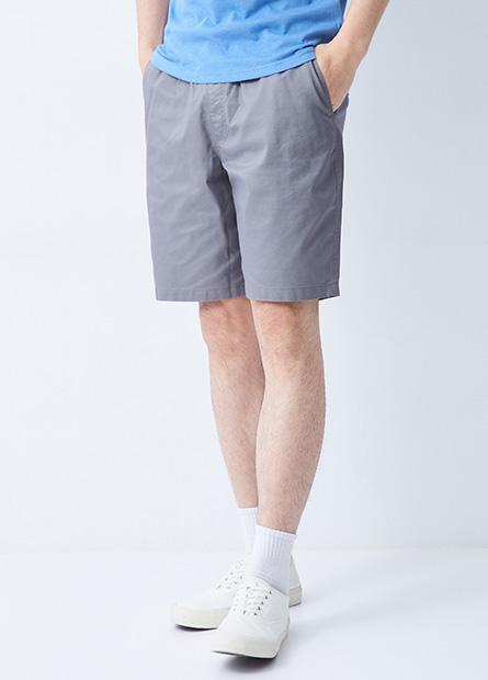 多色抽繩休閒短褲