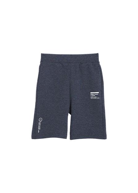 男童健康布基本短褲