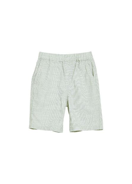 男童鬆緊綁帶休閒短褲