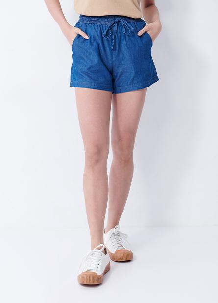 綁帶棉質輕便短褲