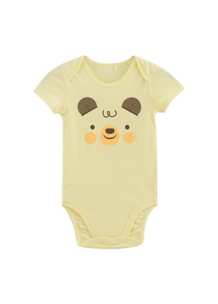 嬰兒可愛動物印花包臀衣