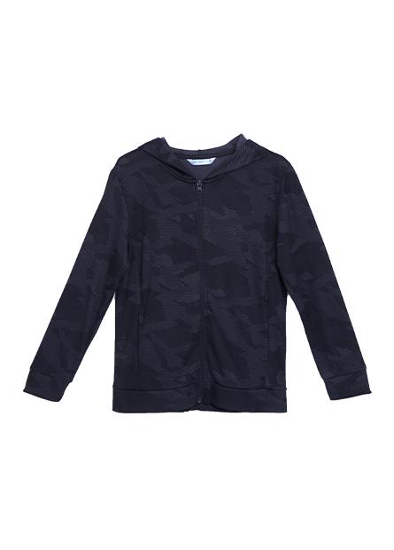 男童抗UV印花外套