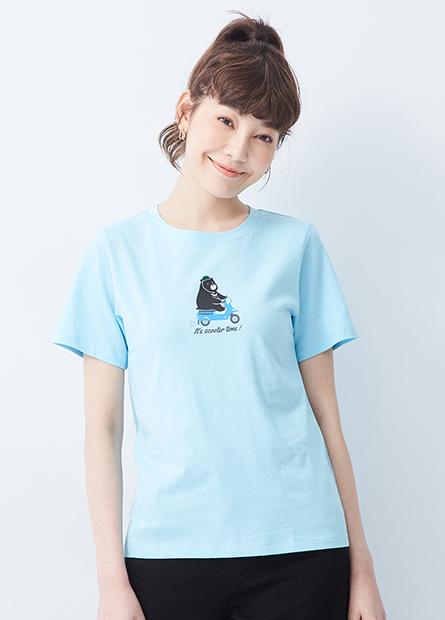 台灣黑熊印花T恤