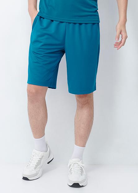 鬆緊綁帶素色機能短褲