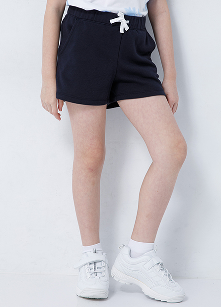女童綁帶棉質短褲