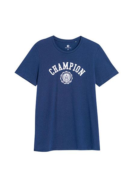美式冠軍印花T恤