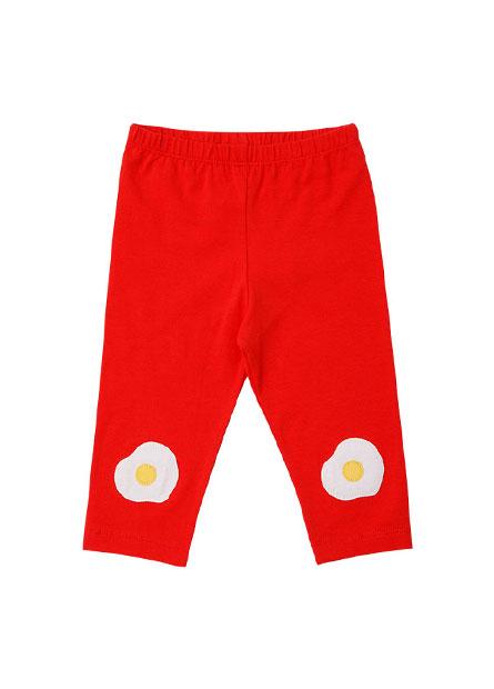嬰兒印花七分內搭褲