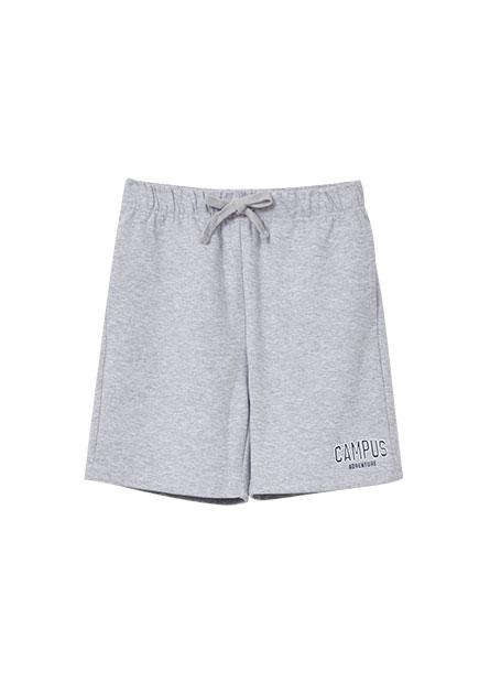 男童字樣綁帶休閒短褲