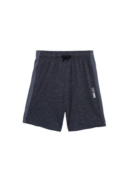 男童運動機能印花短褲