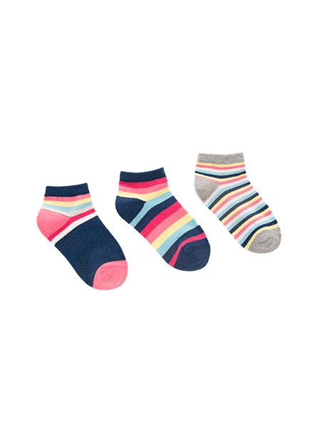 童印花造型短襪(三入)