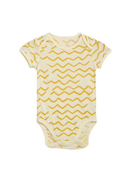 嬰兒網眼短袖活動肩包臀衣