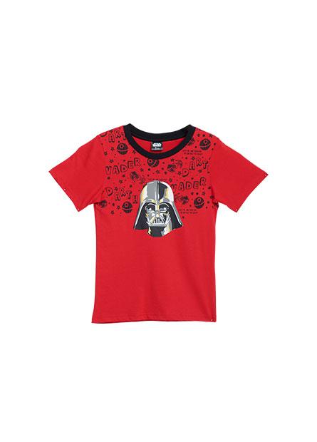 男童黑武士印花T恤