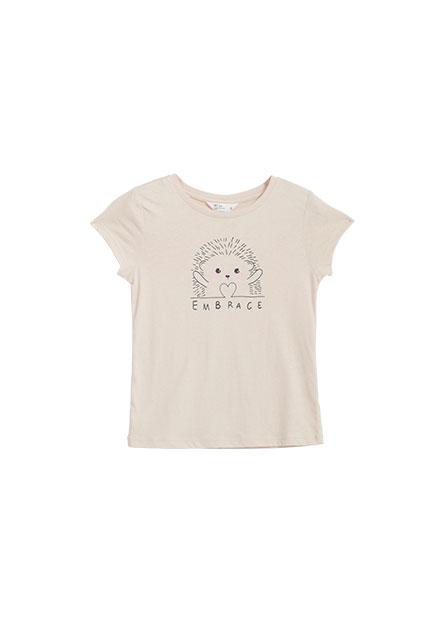 女童可愛動物T恤