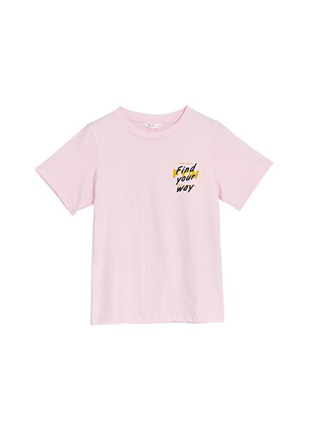 勵志小語印花T恤