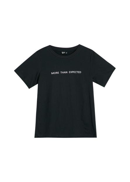 純棉英文字樣T恤
