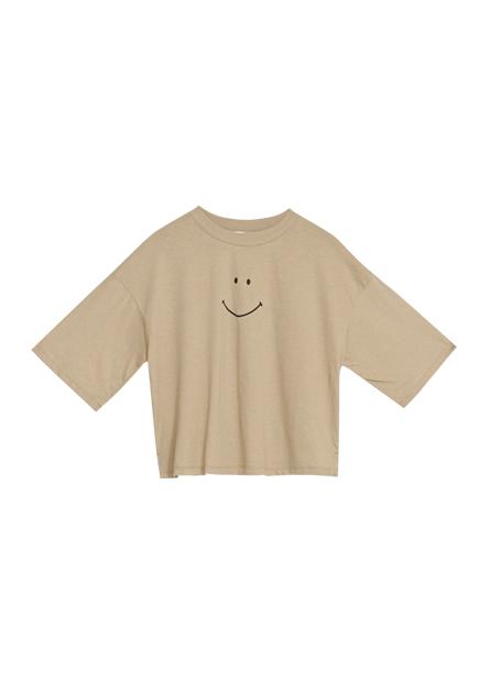 週五微笑印花T恤