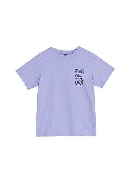 迪士尼公主印花T恤