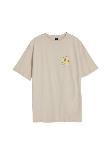 維尼印花長版T恤