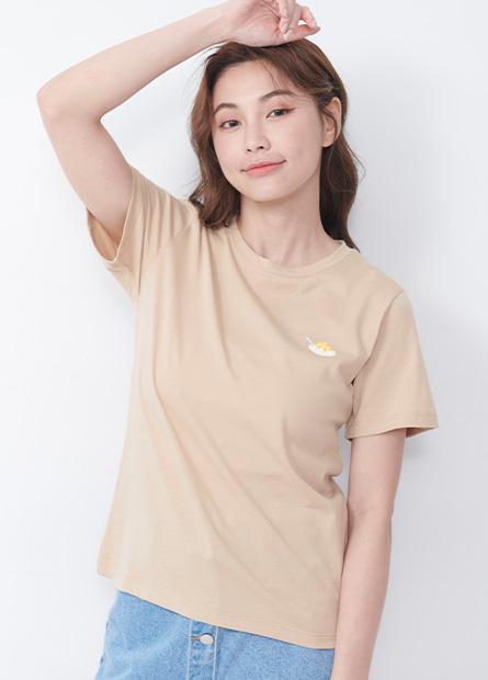 台灣美食印花T恤