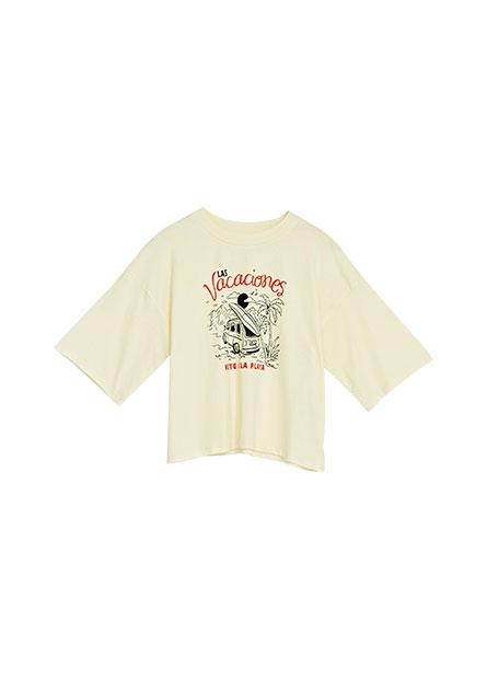 純棉手繪印花T恤