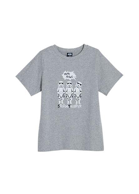 Q版星際大戰印花T恤