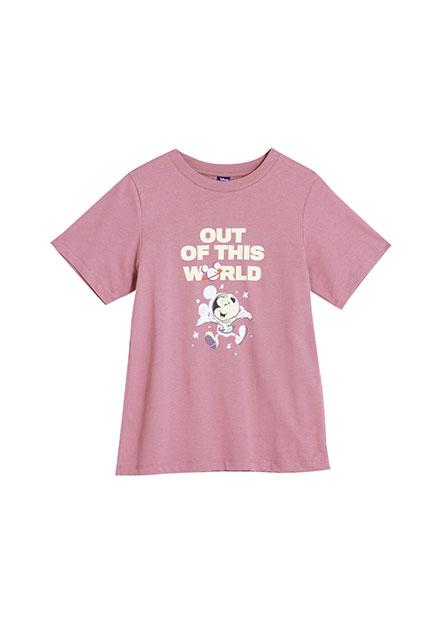 太空米奇印花T恤