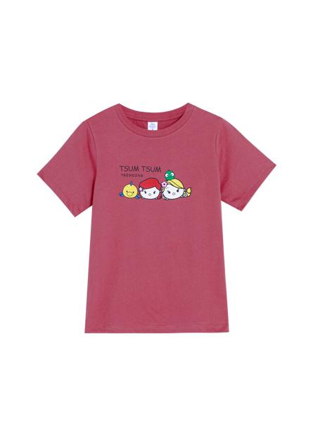 TSUMTSUM印花T恤