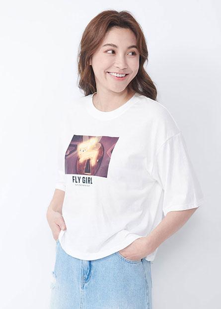 彼得潘小精靈短版T恤