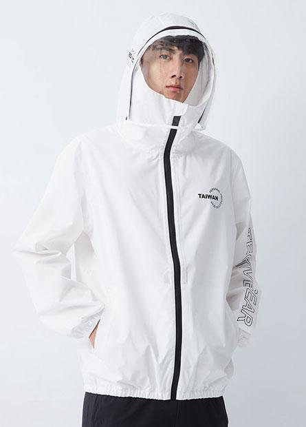 台灣字樣機能防護外套
