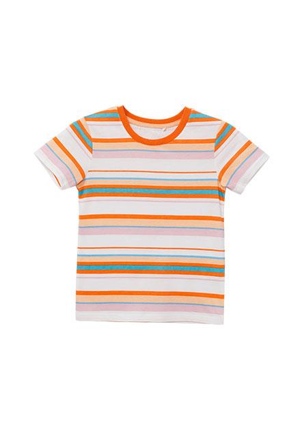男嬰彩色印條上衣