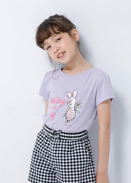 女童維尼家族短袖上衣