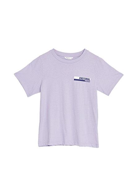 純棉雙色印字T恤