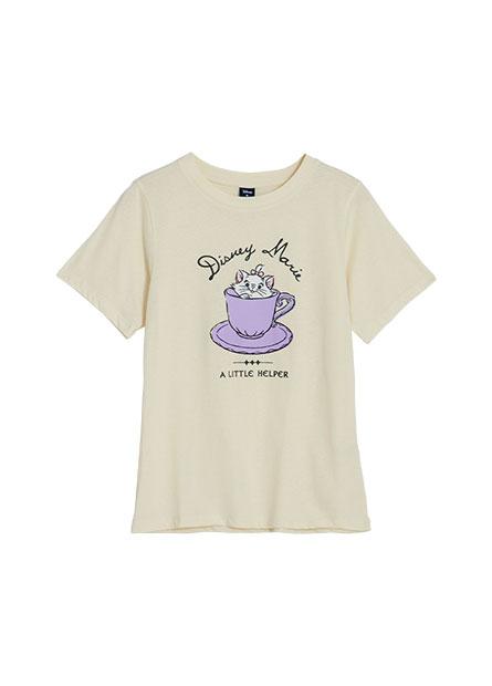 瑪麗貓甜點印花T恤