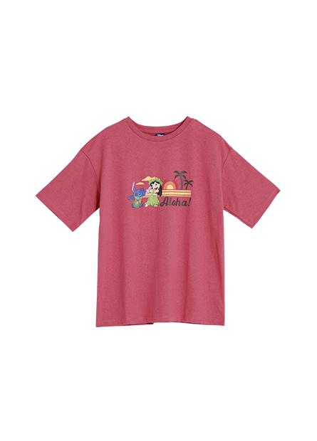 史迪奇印花T恤