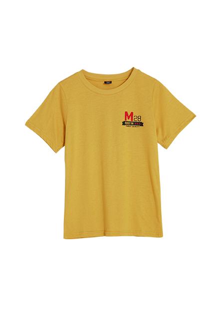 米奇後背印花T恤