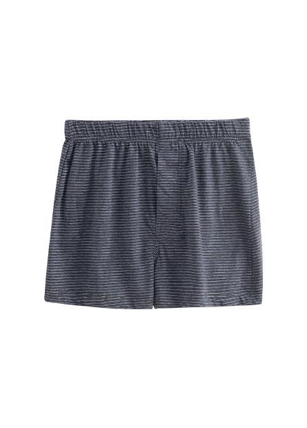 純棉鬆緊四角內褲