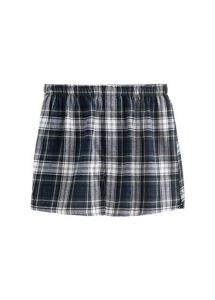 法蘭絨平口內褲