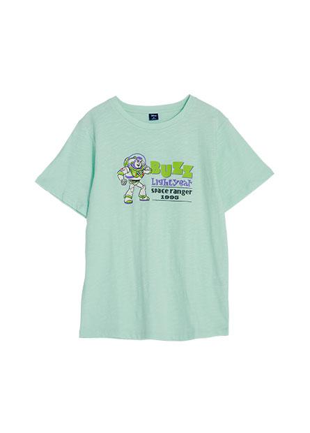 玩具總動員手繪印花T恤