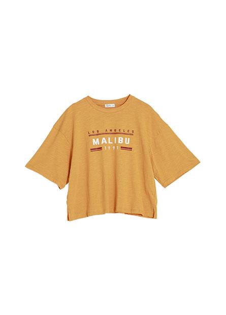 雙色印字短袖T恤